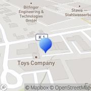 Karte A&O Systems + Services Germany Dortmund, Deutschland
