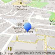 Carte de Gezim S.A. Sélestat, France