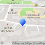 Karte Kanzlei Lämmert, Rechtsanwältin Dr. Nadja Lämmert Dortmund, Deutschland