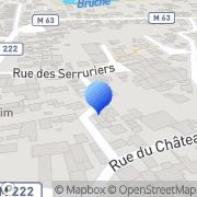 Carte de Heitz Vincent Serrurerie S.A.R.L. Holtzheim, France