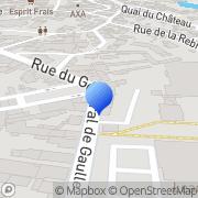 Carte de Filature d'Erstein S.A. Erstein, France