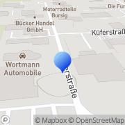 Karte V+N Hamm, Deutschland