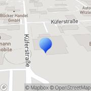 Karte Wilhelm Fatheuer Hamm, Deutschland