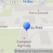 Carte de Hupfer S.A.S. Weyersheim, France