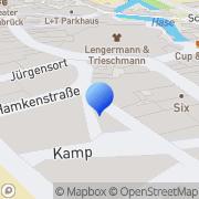 Karte Paulick Kran- & Stahlbau Osnabrück, Deutschland