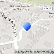 Karte Michael Ernst Baden-Baden, Deutschland