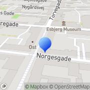 Kort BønneSpiren Esbjerg, Danmark