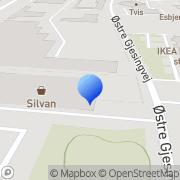 Kort SILVAN Esbjerg Esbjerg, Danmark