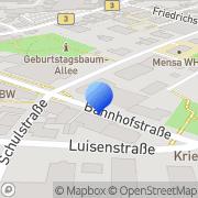 Karte Hofmann-Köhler, ReinhardNaturheilpraxis Weinheim, Deutschland