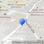 Karte COMO Weinheim, Deutschland