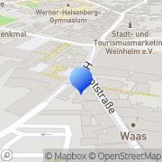 Karte Grimminger Weinheim, Deutschland