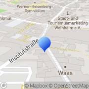 Karte Mayer, Wolfdieter Weinheim, Deutschland