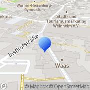 Karte Nordsee Weinheim, Deutschland