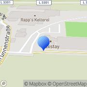 Karte Quellenhof Karben, Deutschland