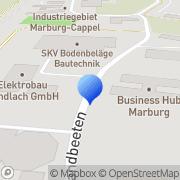 Karte Koch, ErhardSteuerberater Marburg, Deutschland