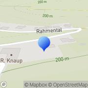 Karte Rainer Knaup Dachdeckermeister GmbH Borchen, Deutschland