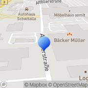 Karte BurgerKing Marburg, Deutschland