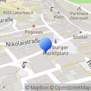Karte Restaurant Zur Krone Marburg, Deutschland