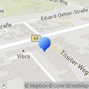 Karte GMF Offenbach am Main, Deutschland
