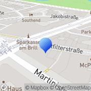 Karte Burger King Bremen, Deutschland