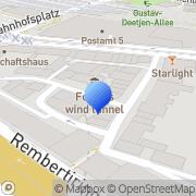 Karte Hotel Buthmann Bremen, Deutschland