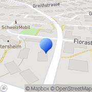 Karte Swart Automobile Reha Technik Rapperswil SG, Schweiz