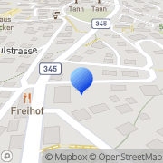 Karte Merk Tann, Schweiz
