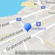 Karte Die Schweizerische Post Steckborn, Schweiz