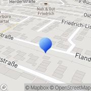 Karte Werbeagentur Albstadt, Deutschland