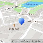 Karte Drogo-Team Wil, Schweiz
