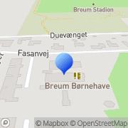 Kort Breum Vognmandsforretning Roslev, Danmark