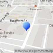 Karte Novaline Vertriebs GmbH Bietigheim-Bissingen, Deutschland