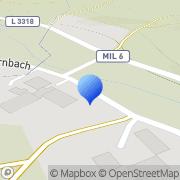 Karte Ohrnbach Weilbach, Deutschland