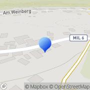 Karte Christel Heinzinger Weilbach, Deutschland