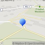 Karte Andreas Ruibat Weilbach, Deutschland