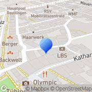 Karte Pa Tankstellen- und Servicebetriebs Reutlingen, Deutschland