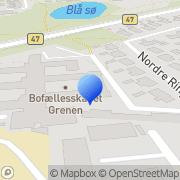 Kort Grenen Bofællesskabet Vojens, Danmark