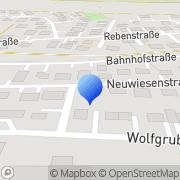Karte Fritz Consulting Metzingen, Deutschland