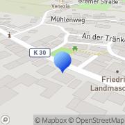 Karte Hermine Arnold Steuerberaterin Calden, Deutschland