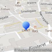 Kort Ladings Gardiner Haderslev, Danmark
