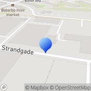Kort Fremtidsværkstedet Vejle, Danmark