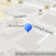 Kort Østjysk Service- og Teltudlejning Vejle, Danmark