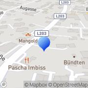 Karte Bösch Bauen u Wohnen Lustenau, Österreich