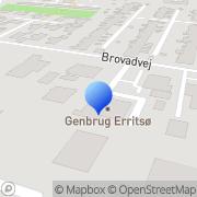 Kort Genbrugsbutik Kirkens Korshær Erritsø Fredericia, Danmark