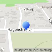 Kort Topper Handel A/S Ulstrup, Danmark