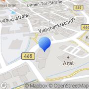 Karte Türkisch-Islamischer Kulturverein DiTiB Biberach, Deutschland