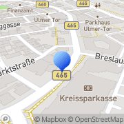 Karte Sozialpsychiatrischer Dienst Biberach, Deutschland