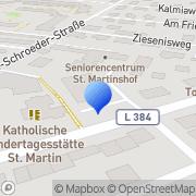 Karte Christliche Seniorendienste Hannover gGmbH Hannover, Deutschland