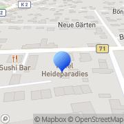 Karte Papillon Soltau, Deutschland