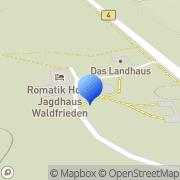 Karte Jagdhaus Waldfrieden Bilsen, Deutschland